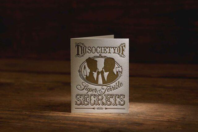 Terrible Secrets card